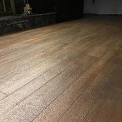 Rustic Concrete Wood- Zion Pros- Peoria, IL (Decorative Concrete Kingdom) Tags: decorativeconcrete concretestaining concreteoverlay concretewood peoria illinois interior