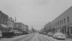 I can't wait to move (Nicole~Jade) Tags: bw small town blackwhite monochrome landscape gloomy