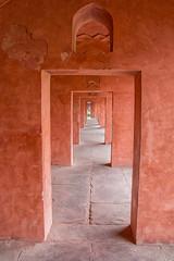 through and through (irisnoack) Tags: doors red sandstone india