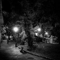 """Street_Night Scene"" (giannipaoloziliani) Tags: obscurity scuro obscure luci ombre centre downtown city capture trees capturestreets flickr extreme shadows lights liguria lightandshadow lamps buio dark darkness shapes urban urbanexplorer urbanstreet hdr nikonphotography nikoncamera nikon streetscene streetnight street streetphotography streetlife notte night europe italia italy genova genoa black nero noir blackandwhite biancoenero"
