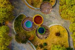 Nürnberg von oben | Insel Schütt (_rot.fuchs) Tags: dronephotography drone aerial topdown nuremberg nürnberg geometry