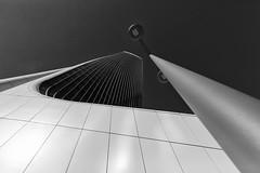 Torre Generali (Leipzig_trifft_Wien) Tags: torre tower building skyscraper modern contemporary bnw blackandwhite monochrome hig lookup
