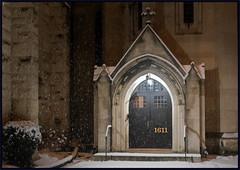 2019/013: Sanctuary (Rex Block) Tags: nikon d750 dslr 50mm f18g dc washington snow church night 16thstreet project365 365the2019edition 3652019 day13365 13jan19 sanctuary