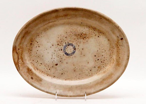 19th Century Steamer Curtis Peck Ironstone Platter ($224.00)