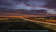 580_Burn Sunrise Timelapse (Jaykhuang) Tags: sunrise highway580 trivalley dublin pleasanton livermore eastbay bayarea california traffic carlighttrail jayhuangphotography timelapse