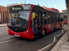 *Rare Sighting* - Optare Metrocity EV on Walworth Road | Type training before working Abellio's single deck routes? (alexpeak24) Tags: