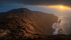 Sunset on Slieve League - Donegal, Ireland - Seascape photography