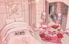 L247 (JoJo Delvalle - Photographer & blogger) Tags: secondlife game virtual 3d pink cute astralia cupidinc lagom reign 220ml bedroom