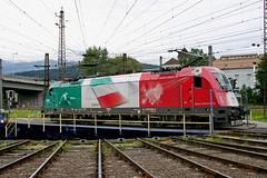 ÖBB 1216 004-2 Italien, Drehscheibe Innsbruck Hbf (TaurusES64U4) Tags: öbb taurus 1216 es64u4