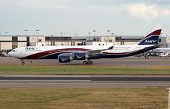 CS-TFX - London Heathrow (LHR) 20.06.2009 (Jakob_DK) Tags: a345 a340542 airbus airbusa340 a340 a340500 airbusa340542 egll lhr heathrow londonheathrow londonheathrowairport heathrowairport hfy hifly hiflytransportesaereos 2009 cstfx ara arikair