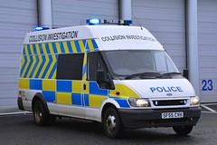 SF55 CVH (S11 AUN) Tags: strathclyde police scotland glasgow city ford transit jumbo van collision investigation unit ciu response anpr traffic car rpu roads policing 999 emergency vehicle ggdivision sf55cvh