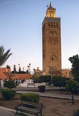 The Koutoubia Mosque of Marrakech (Matthias Dengler || www.snapshopped.com) Tags: matthias dengler snapshopped morocco moroccon marrakesh marrakech tagine market jema elfnaa koutoubia mosque street streets documentary travel explore discover create journal diary africa