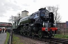 Tornado (simmonsphotography) Tags: railway railroad nenevalley heritage preservation locomotive engine train steam uksteam 60163 tornado peppercorn a1 lner pacific newbuild peterborough