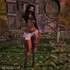 --- Bad Girl ---- (Vexed By Avexis ♥) Tags: firestorm secondlife secondlife:region=ninnananna secondlife:parcel=themidnightsociety secondlife:x=183 secondlife:y=184 secondlife:z=25 ebony blog nature sim genusproject slinkhourglass ikon empire leveninktattoo drd {anc} atelierpepe stealthic hair shorts croptop pseudo darzt luxe alirium