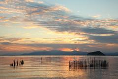 Lake Biwa (Teruhide Tomori) Tags: lakebiwa shiga kohoku landscape winter lake japan japon water afternoon evening nature 琵琶湖 湖北 日本 関西 滋賀県 自然 風景 夕景 sun sunset sky happyplanet asiafavorites