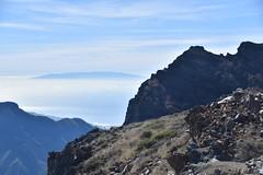 Roque de los Muchachos and El Hierro (PLawston) Tags: spain canary islands la palma roque de los muchachos parque nacional caldera taburiente el hierro clouds