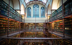 The Library (smeerjewegproducties) Tags: rijksmuseum amsterdam library empty big huge space history art