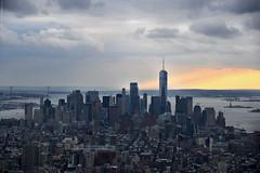NYC - 02 (ricardocarmonafdez) Tags: new york nyc manhattan ciudad city arquitectura architecture rascacielos skyscraper cielo sky nubes clouds buildings lighting nikon d850 24120f4gvr