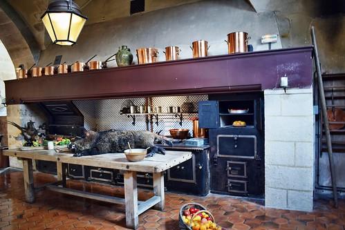 Cocinas del palacio de Vaux-le-Vicomte (Maincy)