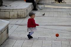 Adorable Girl Playing (oxfordblues84) Tags: oat overseasadventuretravel israel telaviv telavivisrael child girl ball israeligirl israelichild plaza cute suzannedellalcenterfordanceandtheater nevezedek nevezedekneighborhood adorable yaffo telavivyaffo