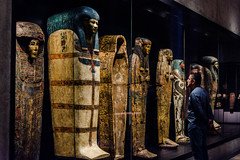Staring (Jontsu) Tags: egyptian museum munich munchen germany deutschland man people sarcophagus nikon d7200 35mm high iso history
