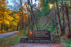 Great Smoky Mountains National Park sign (J.L. Ramsaur Photography) Tags: jlrphotography nikond7200 nikon d7200 photography photo gatlinburgtn easttennessee greatsmokymountainsnationalpark tennessee 2018 engineerswithcameras northcarolina photographyforgod thesouth southernphotography screamofthephotographer greatsmokymountains jlramsaurphotography photograph pic smokymountains nationalparkservice tennesseephotographer thesmokies americasmostvisitednationalpark gsmnp nps appalachianmountains salamandercapitaloftheworld shaconage placeofthebluesmoke fall autumn fallinthesouth tennesseefall fallcolors colorful red orange yellow brown fallseason autumncolors autumninthesouth fallleaves tennesseeautumn leaves autumnleaves leaf fallintennessee autumnintennessee sign signage it'sasign signssigns iseeasign signcity tennesseehdr hdr worldhdr hdraddicted bracketed photomatix hdrphotomatix hdrvillage hdrworlds hdrimaging hdrrighthererightnow