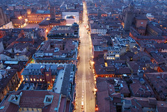 View from the Asinelli Tower (Péter_kekora.blogspot.com) Tags: italy travel 2018 bologna ravenna march nikon d7100