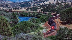 My last big Siskiyou train (C.P. Kirkie) Tags: southernpacific sp siskiyouline shastacascadewonderland siskiyoucounty spsiskiyouline tunnelmotor sd45t2 emd timberindustry trains railroads california northerncalifornia klamathriver