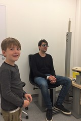 eye crash... (domit) Tags: jay eye injury car accident jette hospital belgium isaac test