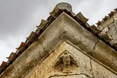 Iglasia de Valdeolmillos, capilla norte (ipomar47) Tags: iglesia templo church valdolmillos iglesiadevaldeolmillos iglesiadesanjuanbautistadevaldeolmillos iglesiadesanjuanbautista cerrato elcerrato palencia castillaleon castillayleon españa spain arquitectura architecture romanico romanesque
