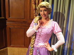 Rapunzel (meeko_) Tags: rapunzel princess tangled characters disneycharacters princessfairytalehall fantasyland magic kingdom magickingdom themepark walt disney world waltdisneyworld florida
