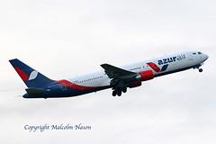 B767-33A)ER) VQ-BUP AZUR AIR (shanairpic) Tags: jetairliner passengerjet b767 boeing767 shannon eirtech azurair lzawc vqbup