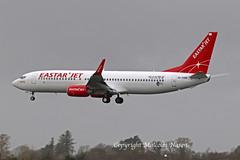 B737-8KN A6-FDM (HL8343) EASTAR JET (shanairpic) Tags: jetairliner passengerjet b737 boeing737 shannon iac eirtech eastar flydubai a6fdm hl8343