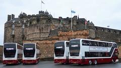 Lothian • B8L Enviro400 XLB (MSDC43) Tags: 1071 1069 1068 1065 scotland edinburgh alexanderdennis adl volvob8l xlb enviro400 buses lothian lothianbuses