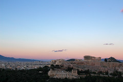 (Karsten Fatur) Tags: landscape landscapephotography city cityscape vista travel travelphotography history architecture acropolis athens parthenon greece europe myth mythology greekmythology sunset sky