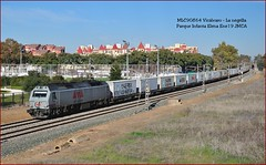 Low Cost Rail (JoseM354) Tags: tren teco vicálvaro la negrilla parque infanta elena 333316 maersk sevilla