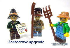 Scarecrow upgrade (WhiteFang (Eurobricks)) Tags: lego collectable minifigures series city town space castle medieval ancient god myth minifig distribution ninja history cmfs sports hobby medical animal pet occupation costume pirates maiden batman licensed dance disco service food hospital child children knights battle farm hero paris sparta historic brick kingdom party birthday fantasy dragon fabuland circus people photo magic wizard harry potter jk rowling movies blockbuster sequels newt beasts animals train characters professor school university rare sign movie warner brothers apoc