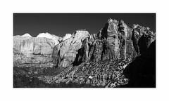 Mt. Carmel Overlook, Zion National Park (Joe Franklin Photography) Tags: zionnationalpark zion utah ut nationalpark canyonoverlook blackandwhite bw almostanything joefranklin wwwjoefranklinphotographycom southwest landscape canyon