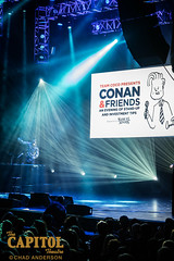 conan and friends 11.7.18 photos by chad anderson-7348 (capitoltheatre) Tags: thecapitoltheatre capitoltheatre thecap conan conanobrien conanfriends housephotographer portchester portchesterny comedy comedian funny laugh joke