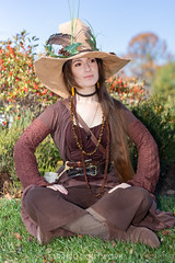 Radagast the Brown (S1Price Lightworks) Tags: faericon 2018 radagast fantasy girl cosplay lord rings tolkien beauty jrr canon eos r sigma art 50mm hat brown dress up fairy