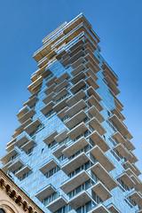Jenga Building (NewYorkitecture) Tags: newyorkcity nyc manhattan tribeca 56leonardstreet jengabuilding