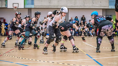 18 (Jan Hutter) Tags: belfast belfastrollerderby northernireland praguecityrollerderby wftda womensflattrackderbyassociation autumn contact czech czechrepublic girls indoor ladies november prague rollerderby rollerskates sport women