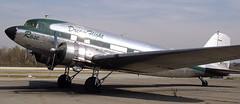 Douglas DC-3 N101KC (707-348C) Tags: corona kajo california airliner propliner piston douglasdc3 rose dc3 rosethequeenofcorona ca thequeenofcorona dakota paulsimon prop n101kc radial usa 2006 dreamflight