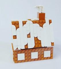 2018 - lego gingerbread house 1 (deborah higdon - buildings blockd) Tags: lego holiday christmas gingerbread house decoration village church