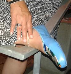 Gigi (3087) (Duke of Slippers) Tags: ballet slippers slipperettes flats pumps shoes footwear fetish pantofole pantoufles scarpe