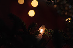 Light In The Christmas Tree (k009034) Tags: 500px xmas christmas lights copy space finland scandinavia tranquil scene bokeh branch candle decorations tree dark electric holidays indoors light moody no people traditional winter teamcanon christmaslights copyspace tranquilscene christmasdecorations christmastree nopeople