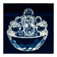The Nest (Timothy Valentine) Tags: 2018 glass home 2x1⅝ lightbox macromonday swarovski 1218 september3rd eastbridgewater massachusetts unitedstates us macromondays redux2018