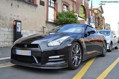Nissan GTR (Monde-Auto Passion Photos) Tags: voiture vehicule auto automobile nissan gtr coupé noir black sportive france fontainebleau