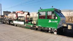 DRESINA COMETI (FerrocarrildelBergantes) Tags: adif cometi castulo