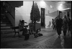 f80_112_8 (Ghostwriter D.) Tags: andalucia andalusia españa spainespanaandalucia spain 2017 nikonf80 nikkor14 blackandwhite blackwhite bw analog vejerdelafrontera musician guitar singer songwriter